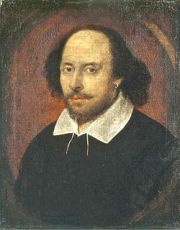 Possibly the only portrait of William Shakespeare painted from life.