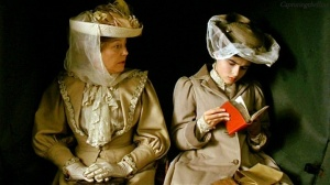 A scene from the film adaptation starring Helene Bonham Carter and Maggie Smith