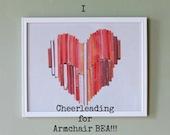book heart armchairbea