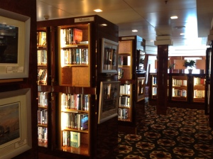 Library on Queen Mary 2