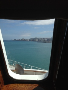 View from library of Queen Mary 2