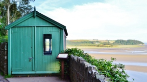 Dylan Thomas' writing shed at Laugharne
