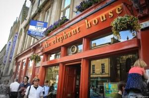 Edinburgh Cafe, The Elephant House: The birthplace of Harry Potter