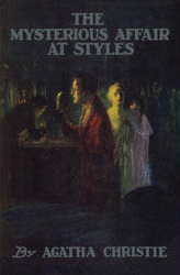 cover of the first edition of ''The Mysterious Affair at Styles''. Shared via Creative Commons License from Wikipedia