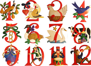 you all know the song the twelve days of christmas even if you cant remember exactly the number of leaping lords or laying geese - 12 Days Of Christmas Book