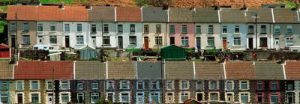 Terraced houses, South Wales