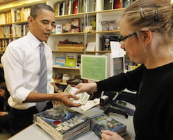 Obama buys books