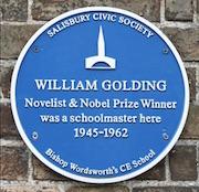 William Golding plaque