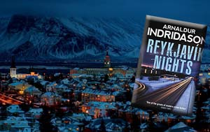 Reykyavik Nights by Arnaldur Indridason; Nordic Noir fiction